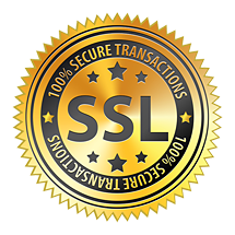 100% Secured Transactions - SSL Security Certificate